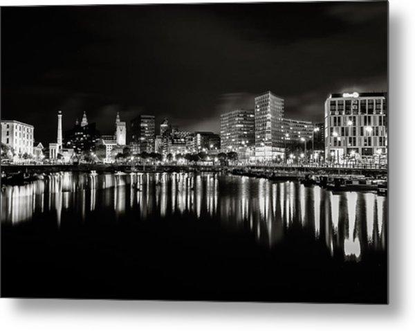 Canning Dock Liverpool Metal Print by Wayne Molyneux