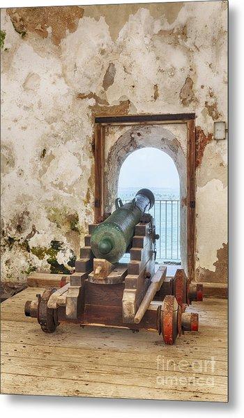 Cannon At Fort San Felipe Del Morro Metal Print