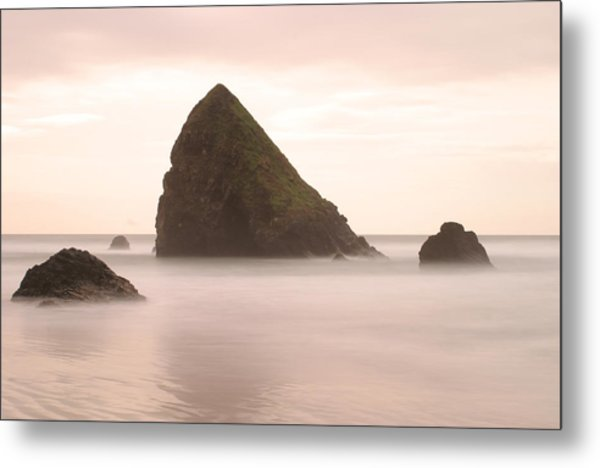 Cannon Beach - 1 Metal Print by Maxwell Amaro