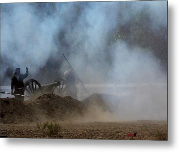 Cannon Fire 3 Metal Print by Chuck Kemp