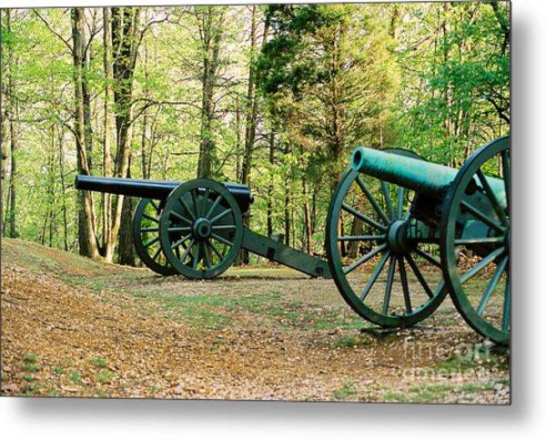 Cannons I Metal Print