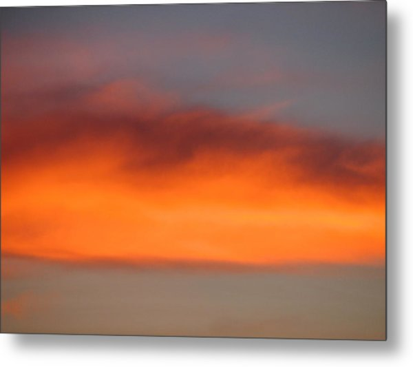 Canvas Sky Metal Print