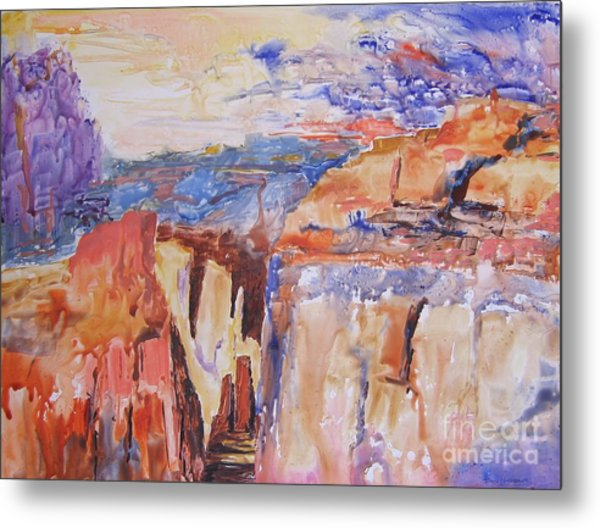 Canyon Suite Metal Print