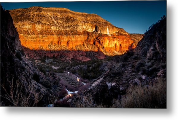 Canyon Sunset Metal Print
