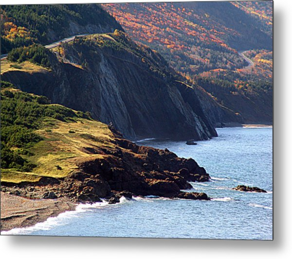 Cap Rouge In Autumn Metal Print by Janet Ashworth