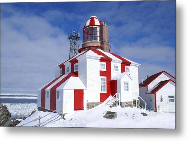 Cape Bonavista Lighthouse Metal Print