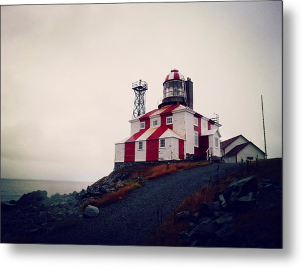 Cape Bonavista Lighthouse Metal Print