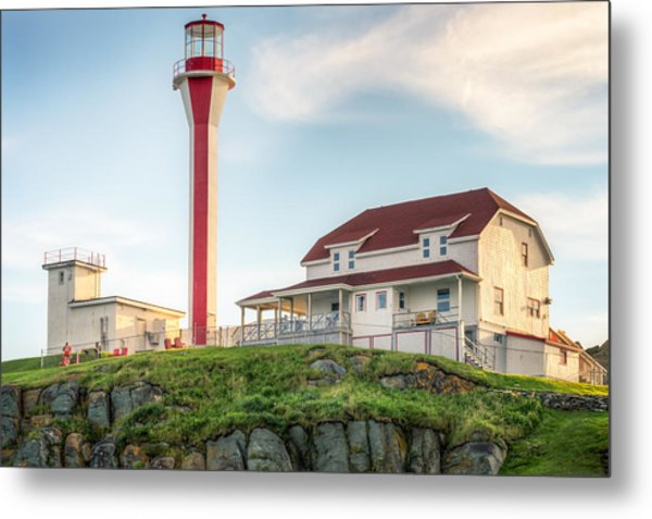 Cape Forchu Lighthouse Metal Print