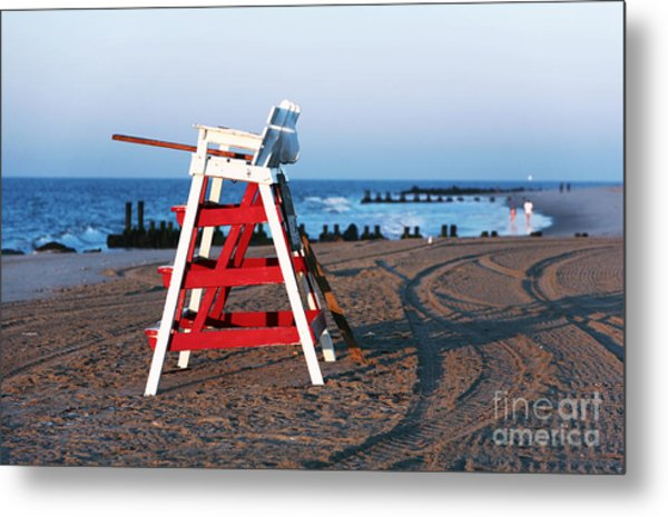 Cape May Morning Metal Print