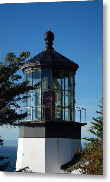 Cape Meares Lighthouse Metal Print