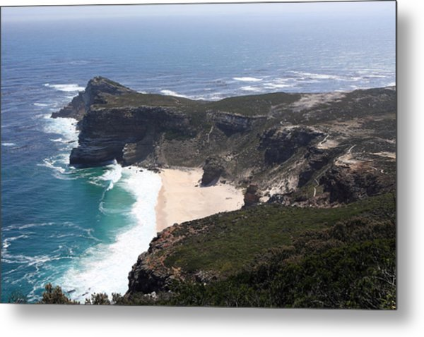 Cape Of Good Hope Coastline - South Africa Metal Print