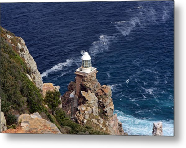 Cape Of Good Hope Lighthouse Metal Print