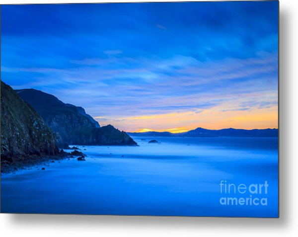Metal Print featuring the photograph Cape Prior From Campelo Beach Galicia Spain by Pablo Avanzini