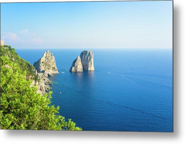 Capri Island Metal Print
