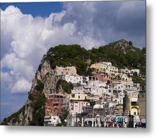 Capri Magic Metal Print