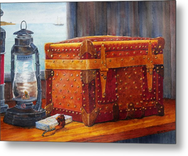 Capt. Murray's Chest Metal Print