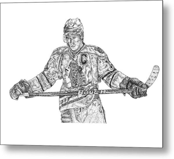 Captain Metal Print by Joe Rozek