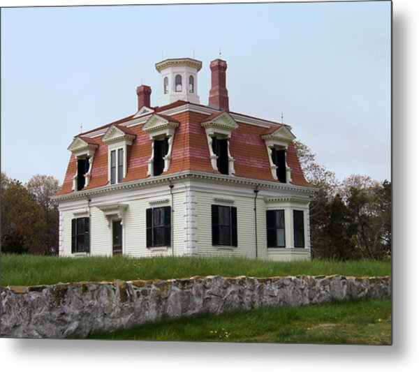 Captain Pennimans House Metal Print by Catherine Gagne