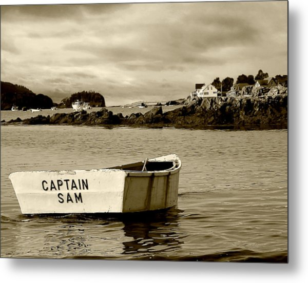 Captain Sam Metal Print