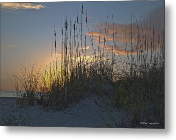 Captiva Sunset Metal Print by Mike Fitzgerald