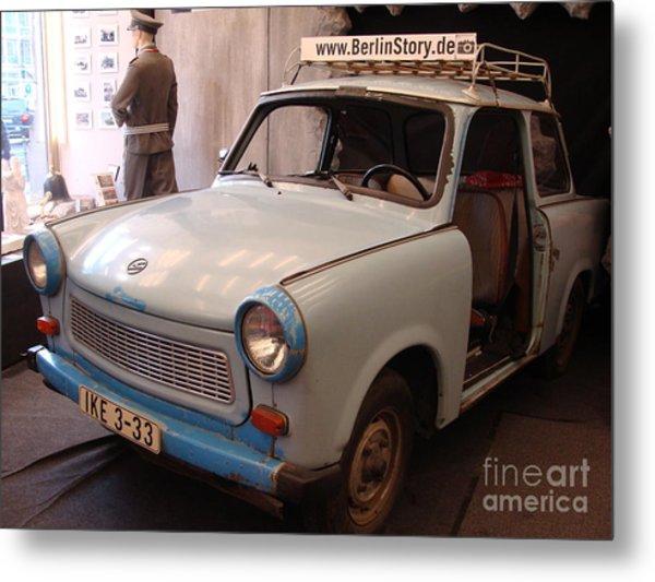 Car In Berlin Metal Print
