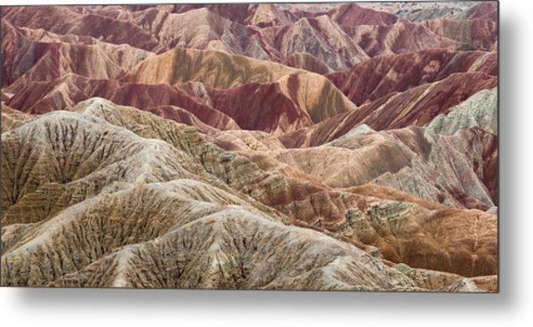 Caramelized Landscape Metal Print