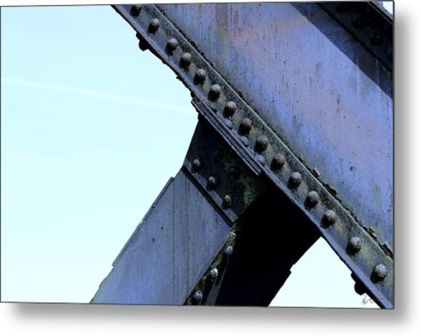 Carbonado Structure Metal Print by Stephen Prestek