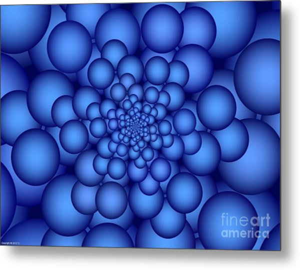 Carbonation Metal Print