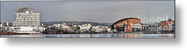 Cardiff Bay Panorama 2 Metal Print