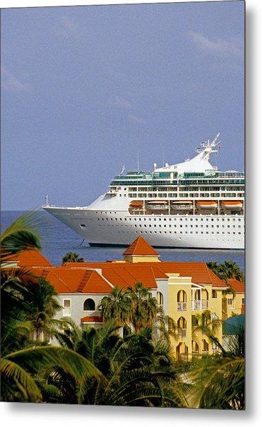 Caribbean Cruise Metal Print