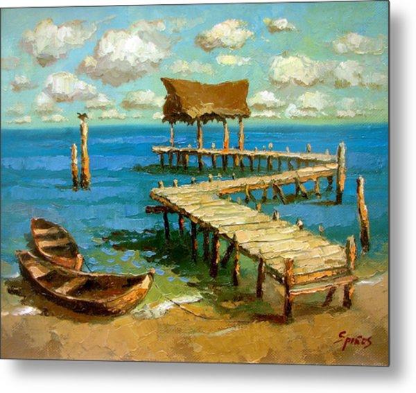 Caribbean Sea 2 Metal Print