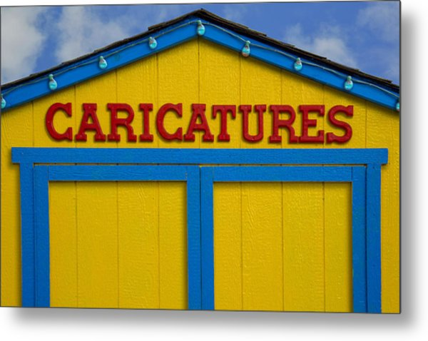 Metal Print featuring the photograph Caricatures by Paul Wear