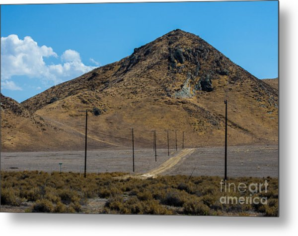 Carizzo Plains Nm  5-9653 Metal Print by Stephen Parker