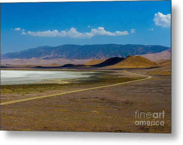 Carizzo Plains Nm  5-9656 Metal Print by Stephen Parker