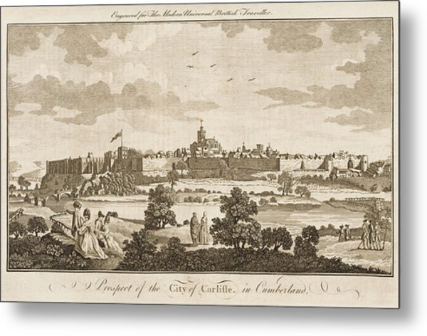 Carlisle, Cumbria, England     Date 1779 Metal Print by Mary Evans Picture Library