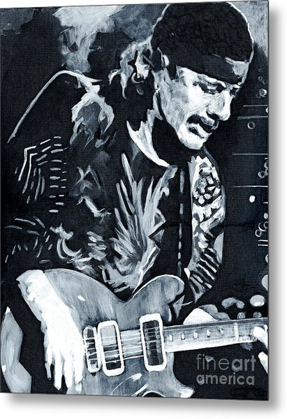 Carlos Santana - Black Magic Woman Metal Print