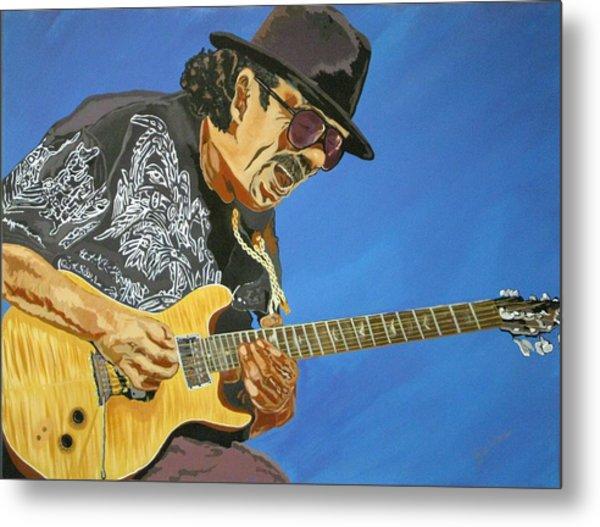 Carlos Santana-magical Musica Metal Print