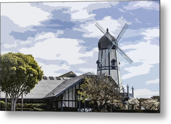Carlsbad Windmill Metal Print