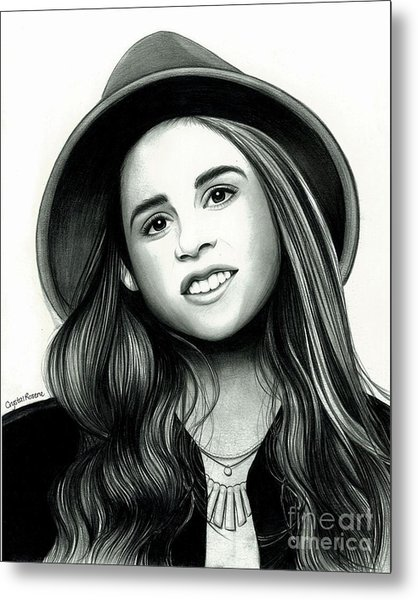 Carly Rose Sonenclar Metal Print