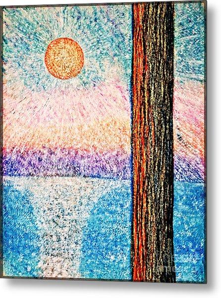 Carmel Highlands Sunset Metal Print