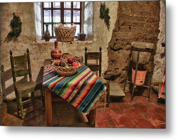 Carmel Mission 7 Metal Print
