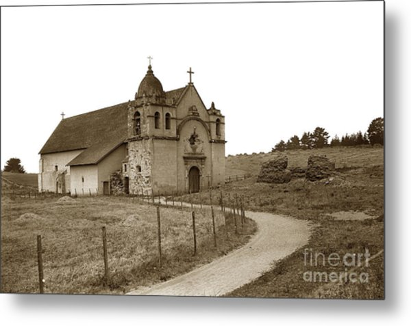 Carmel Mission Monterey Co. California Circa 1890 Metal Print