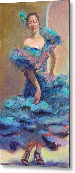 Carmencita Dances Metal Print by Gwen Carroll