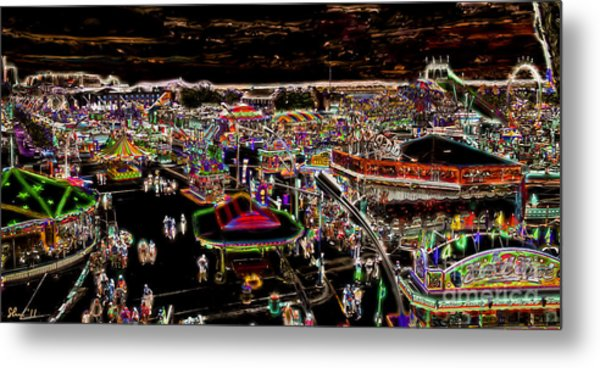 Carnival - Midway East Metal Print