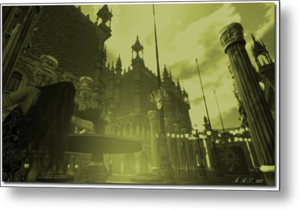 Carnivale - After Absinthe Metal Print