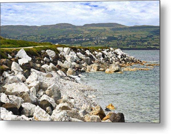 Carnlough Bay Antrim Northern Ireland Metal Print
