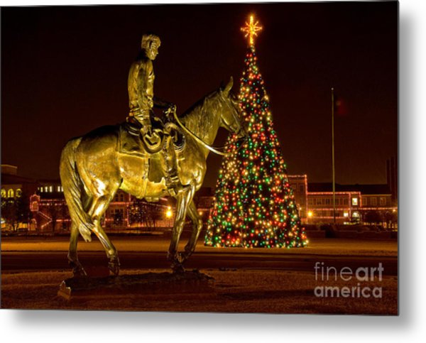 Metal Print featuring the photograph Carol Of Lights by Mae Wertz