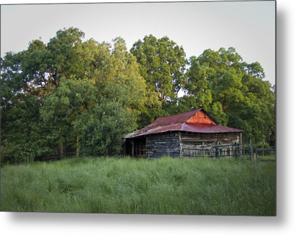 Carolina Horse Barn Metal Print