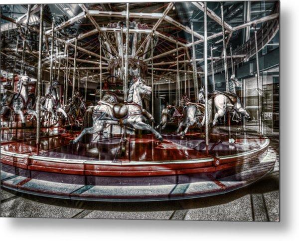 Carousel Metal Print