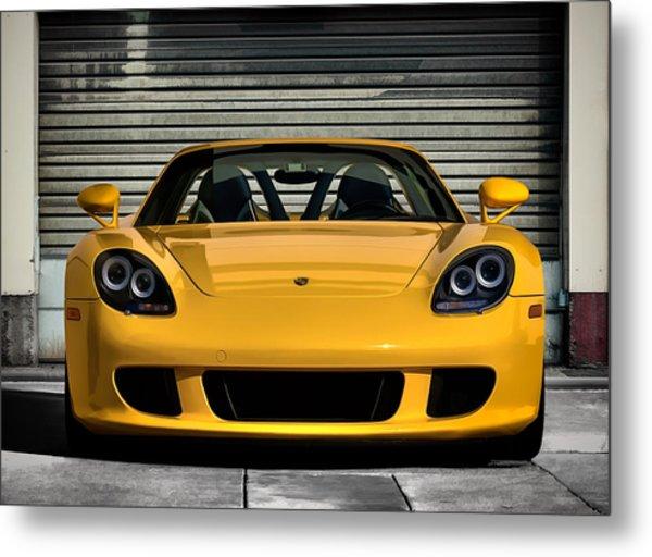 Porsche, Carrera Gt Metal Print